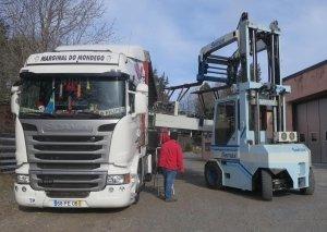 loading- unloading Grassi 105